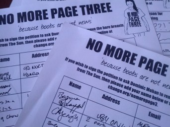 Lots of signatures for the NMP3 campaign (thank you everyone!)