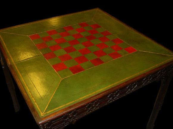 Hand Dyed Antigued games table