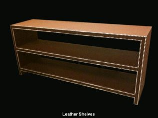 Leather Shelves