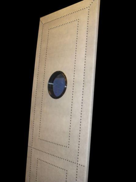 Shagreen Leather Portal Door 2