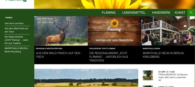 Coaching: Relaunch der Website echt-flaeming.de