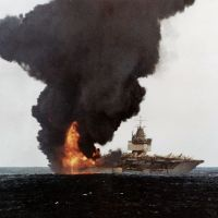 What Happened on January 14th - Explosion Aboard USS Enterprise Aircraft Carrier