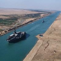 S is for Suez Canal #atozchallenge @aprila2z