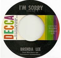 45-RPM-Record-Im-Sorry-By-Brenda-Lee
