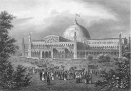 """In July, 1853, the New York Exhibition of the Industry of All Nations (better know as the """"New York Crystal Palace"""") opened its doors to an eager public."""
