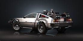 Delorean DMC-12, Doc Brown's Time Machine