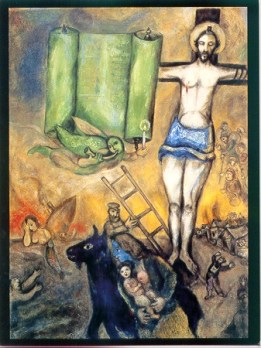 Yellow Crucifixion, Marc Chagall
