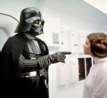 Darth Vader and Princess Leia