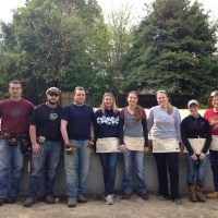 Bowman Employees Spend the Day with Habitat for Humanity