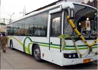 the airconditioned chennai bus