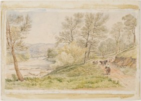 Comerang, Bodalla, lower road, 1883 [watercolour]