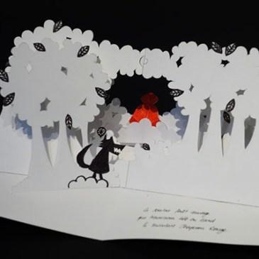 """Projet de livre """"Variation pour un loup et un jardin potager"""", maquette réalisée, page 5"""