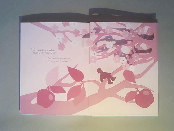 Le bonheur est dans le pré, dentelle de fleurs de cerisier page 6
