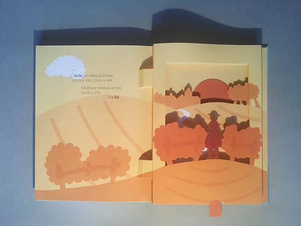 Le bonheur est dans le pré, diorama page 7