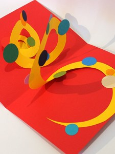 Atelier pop-up autour de la spirale simple, forme ronde