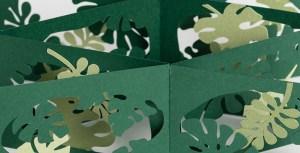 Livre d'artiste Paysages croisés - jungle . Détail