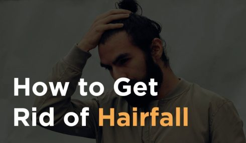how to get rid of hairfall