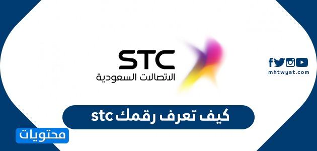 معرفة رقم شريحة بيانات Stc