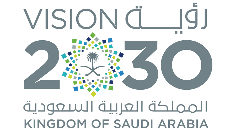شعار رؤية المملكة 2030 شفاف