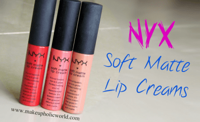 NYX Soft Matte Lip Creams Swacthes and Review