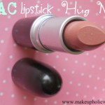 MAC lipstick Hug Me ; Review, Swatches & LOTD