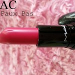 Mac heirloom collection lipstick – NO FAUX PAS