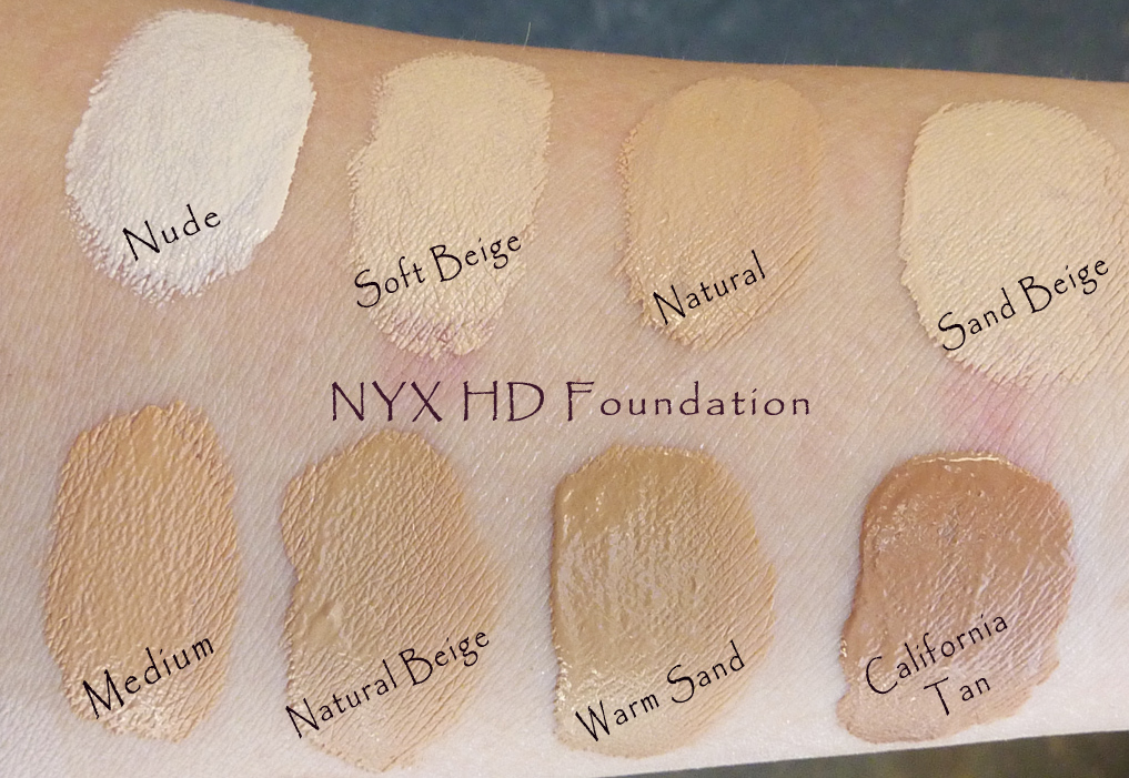 NYX_HD_Studio_Foundation_Swatches