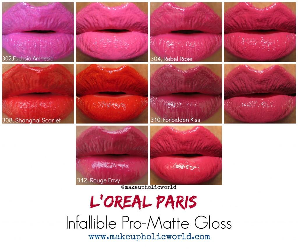 Loreal_Paris_Infallible_ProMatteGloss_LOTDs