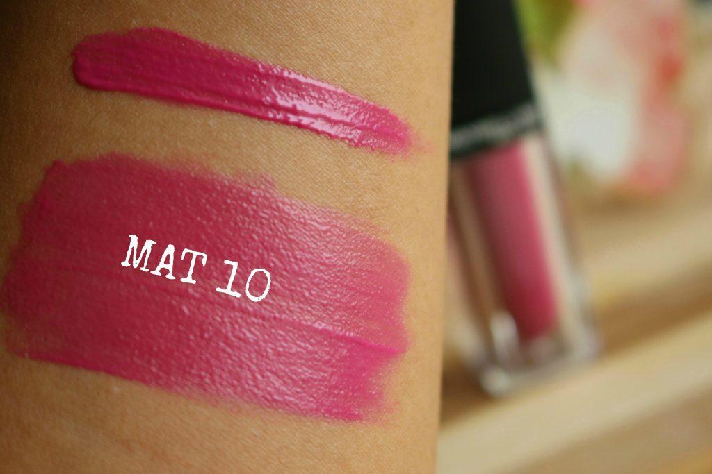 Maybelline Colorsensational Velvet Matte - MAT10 review