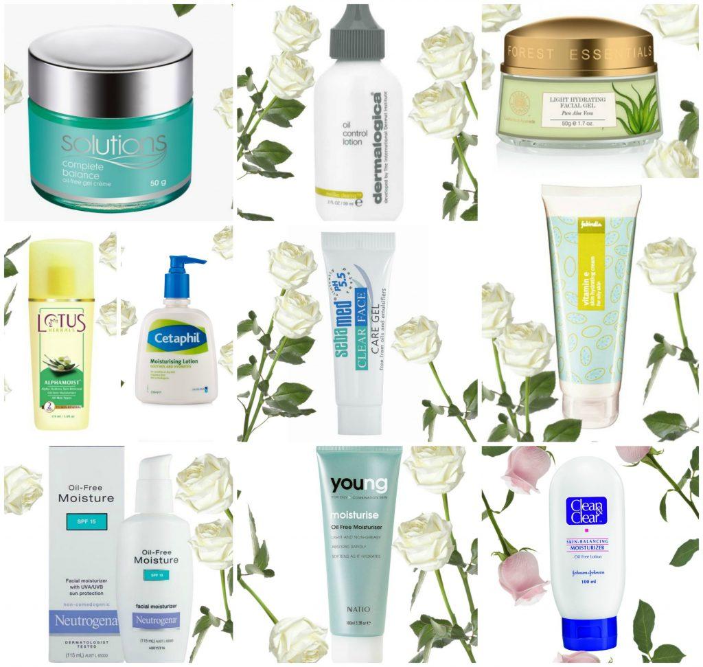 moisturizers for oily acne prone skin