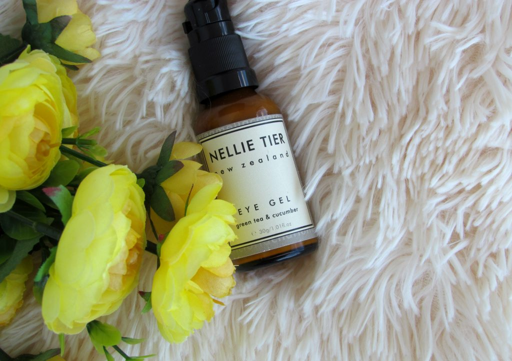 nellie tier green tea and cucumber under eye gel review
