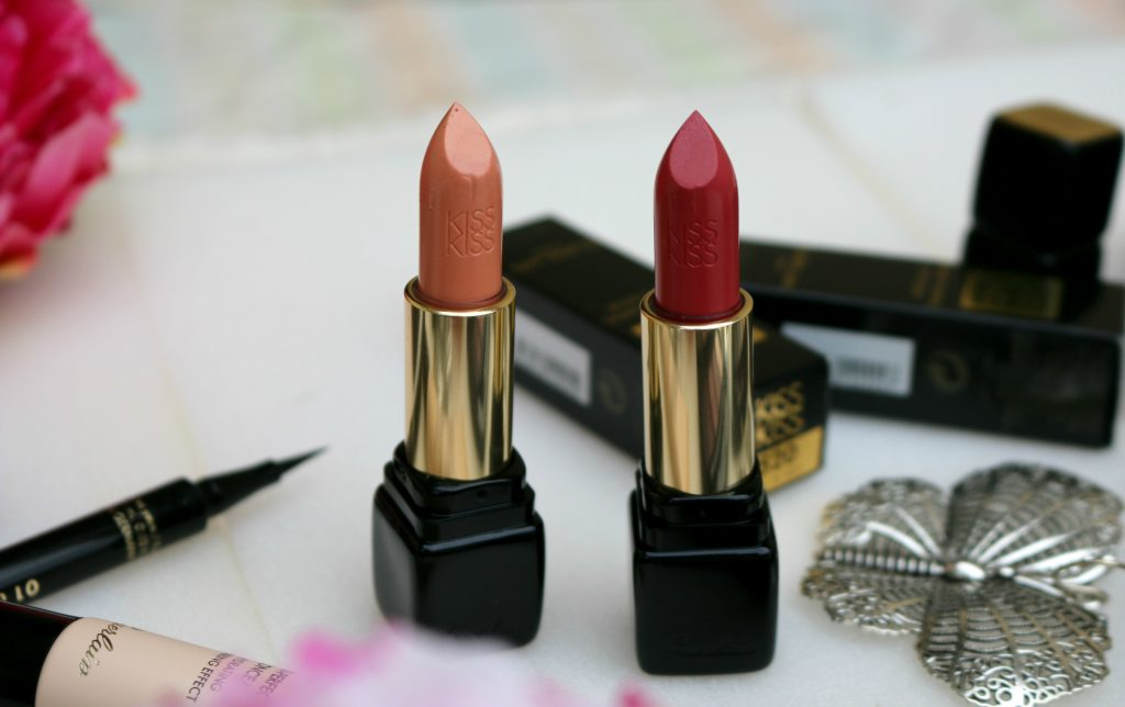 guerlain kis fall in red, fall in nude reviewsskiss shaping cream lip colour fall in red, fall in nude reviews