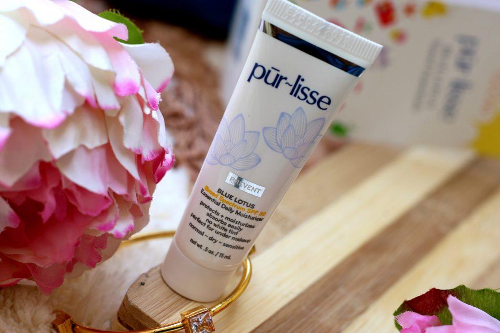 purlisse Blue Lotus Essential Daily Moisturizer SPF30