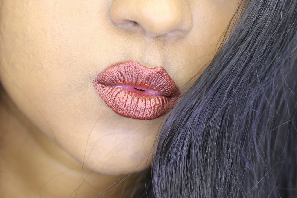 Milani Amore Matte Metallic Lip Crème Matterialistic review