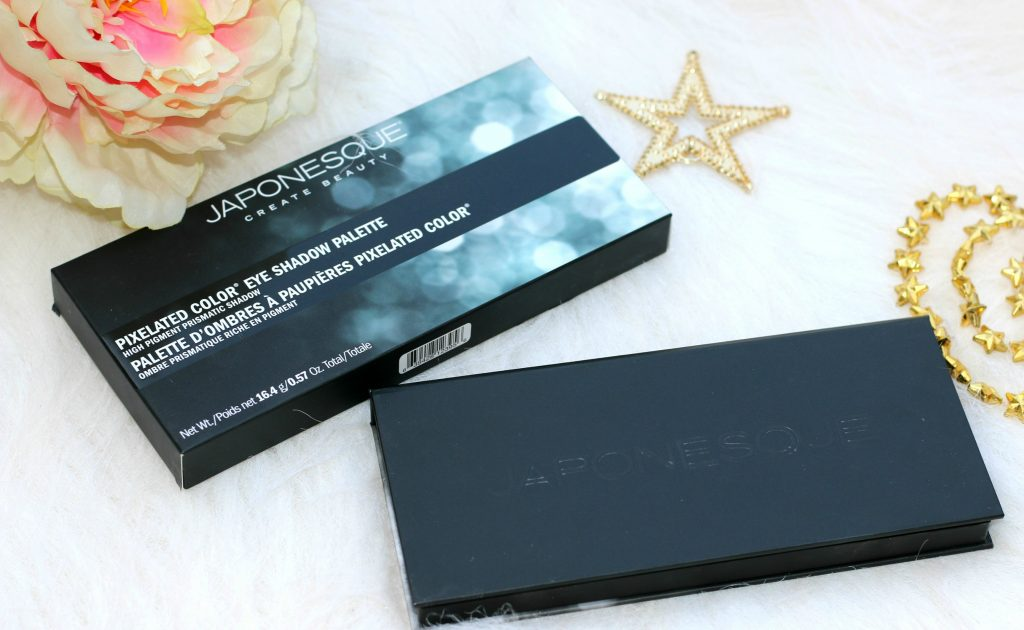 japonesque color pixelated eyeshadow palette swatches,