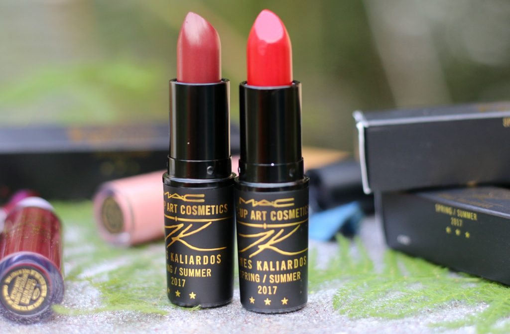 mac james kaliardos lipstick swatches and review, mac james kaliardos lipstick online