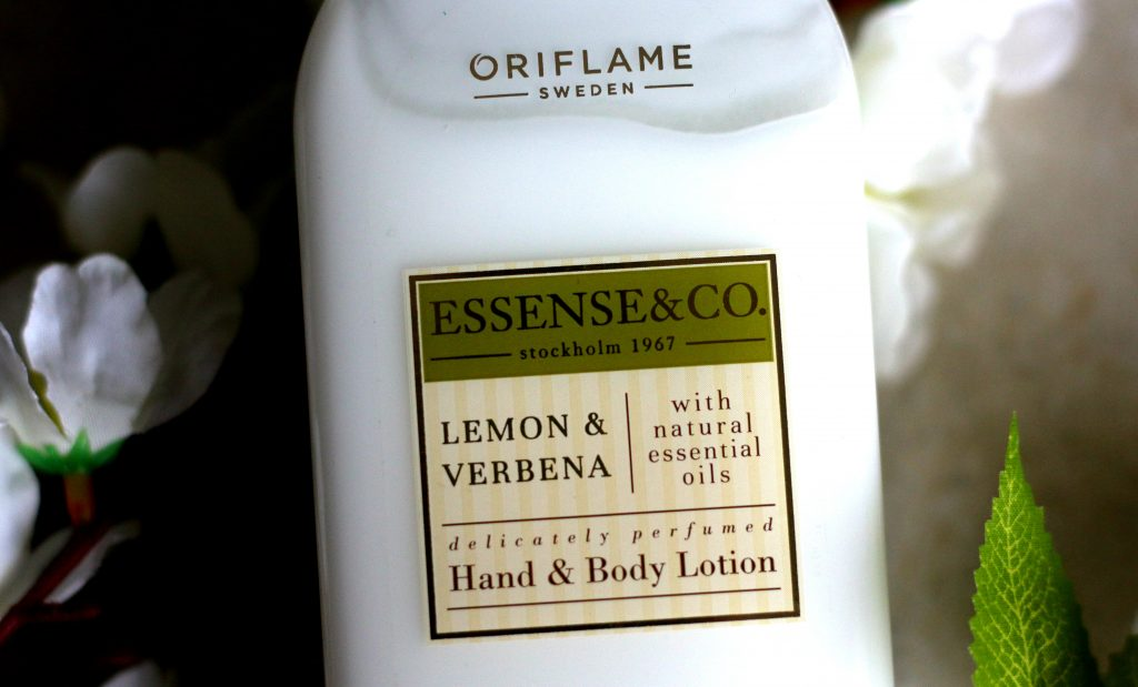 Oriflame Essense & Co. Lemon & Verbena Hand and Body Lotion Review