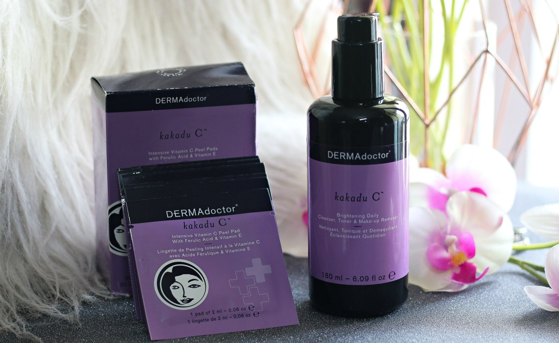 My favorite skincare products from DERMAdoctor
