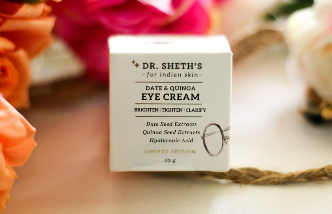 dr. sheth's date & quinoa eye cream, dr. sheth's date & quinoa eye cream review, best under eye cream, under eye cream with niacinamide, niacinamide for dark circles, best way to remove darkcircles,best eye cream, top under eye cream, best under eye dark circle removal creams, best under eye gel and creams in india, best eye creams for dark circles, puffiness and fine lines,best under eye cream in india, best eye cream for 50+ uk, best dark circle eye cream in the world, best under eye cream for puffiness in india, best anti aging eye cream for 40s, best under eye dark circle remover cream,best drugstore eye cream for dark circles