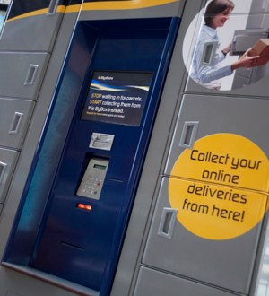 Online retailing giant Amazon is to add a locker delivery
