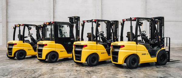 Hyundai Forklift Range