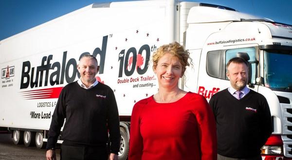 Buffaload Logistics fleet tops 100 double deckers