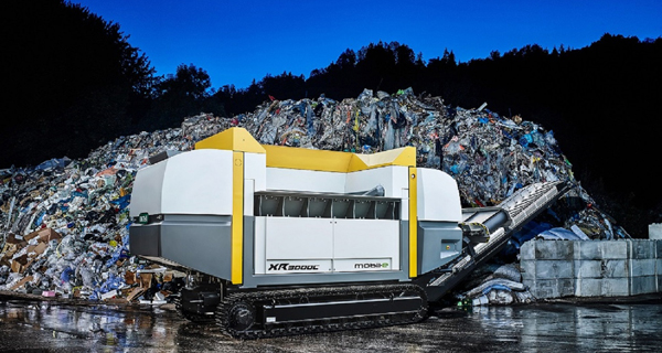 Austrian innovation takes waste shredding solution mobile