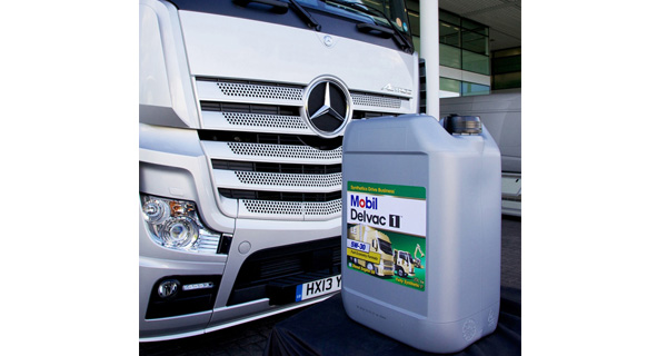 Mobil Delvac 1 Synthetic Engine Oil helps Swedish transport company achieve 2% fuel economy