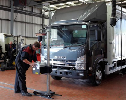 New parts ands service dealer for Isuzu Truck in Aberdeen