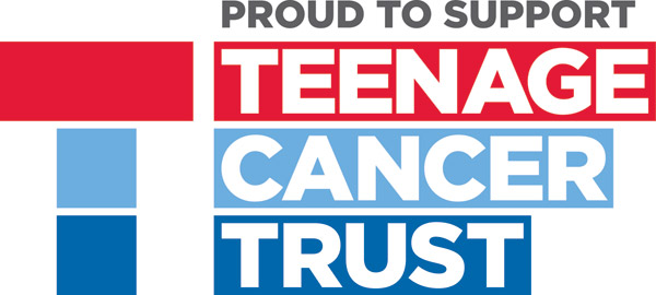 Briggs supports Teenage Cancer Trust as charity partner for 2016