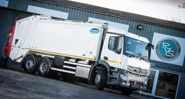 RVS launches 'off the shelf' refuse truck venture with Mercedes-Benz Antos