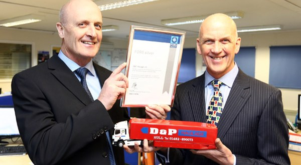 Sterling celebrations at Hull distribution and Warehousing firm D&P Haulage