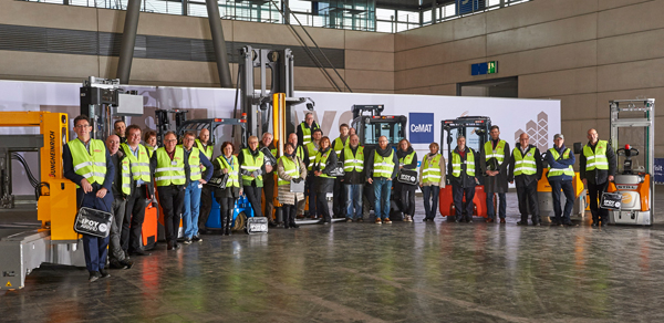 IFOY Test Days 2016: jury tests nominated forklift and warehouse trucks