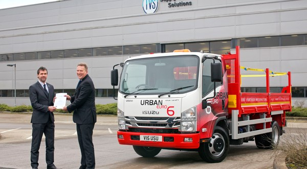 Isuzu Truck (UK) Ltd and TVS Supply Chain Solutions celebrate 20 years of collaboration this month with the signing of a 3 year contract renewal.